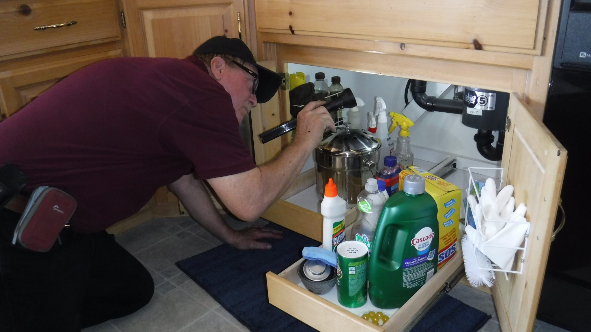 Plumbing Inspection by Holderman Inspection Services